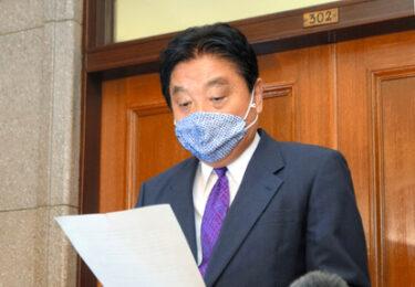 【名古屋】河村市長、金メダル噛み給与返上…給料3カ月分ゼロに